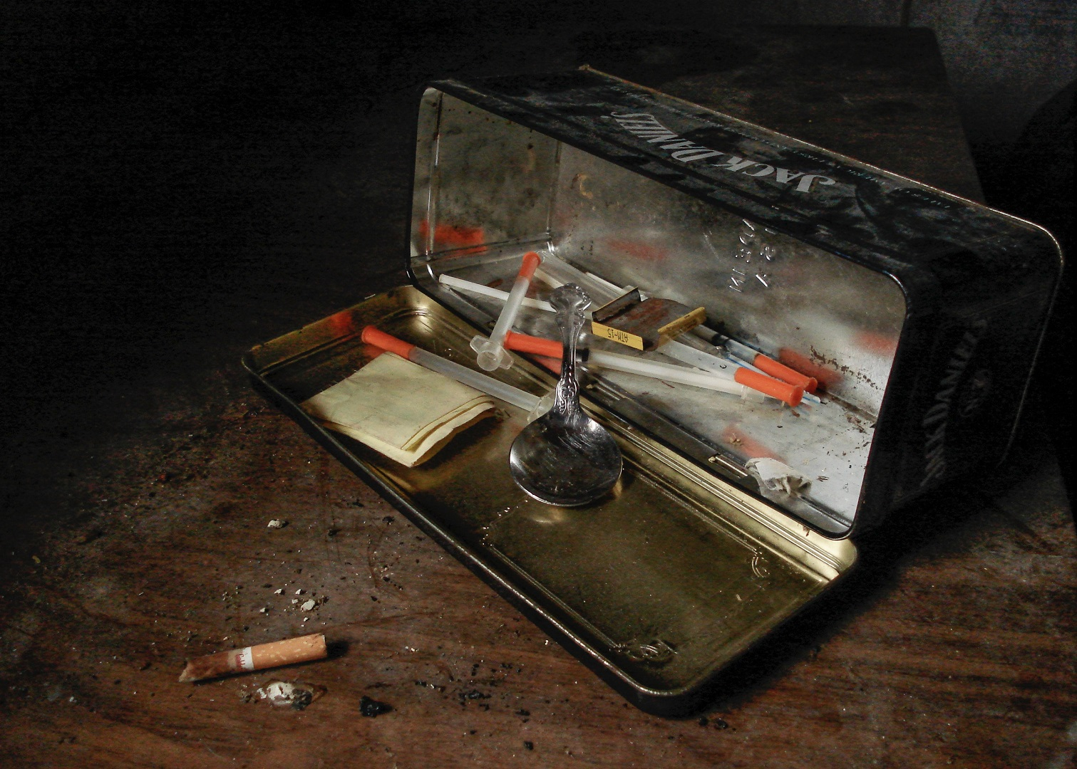 Drug Stash Box by Matthew T. Rader